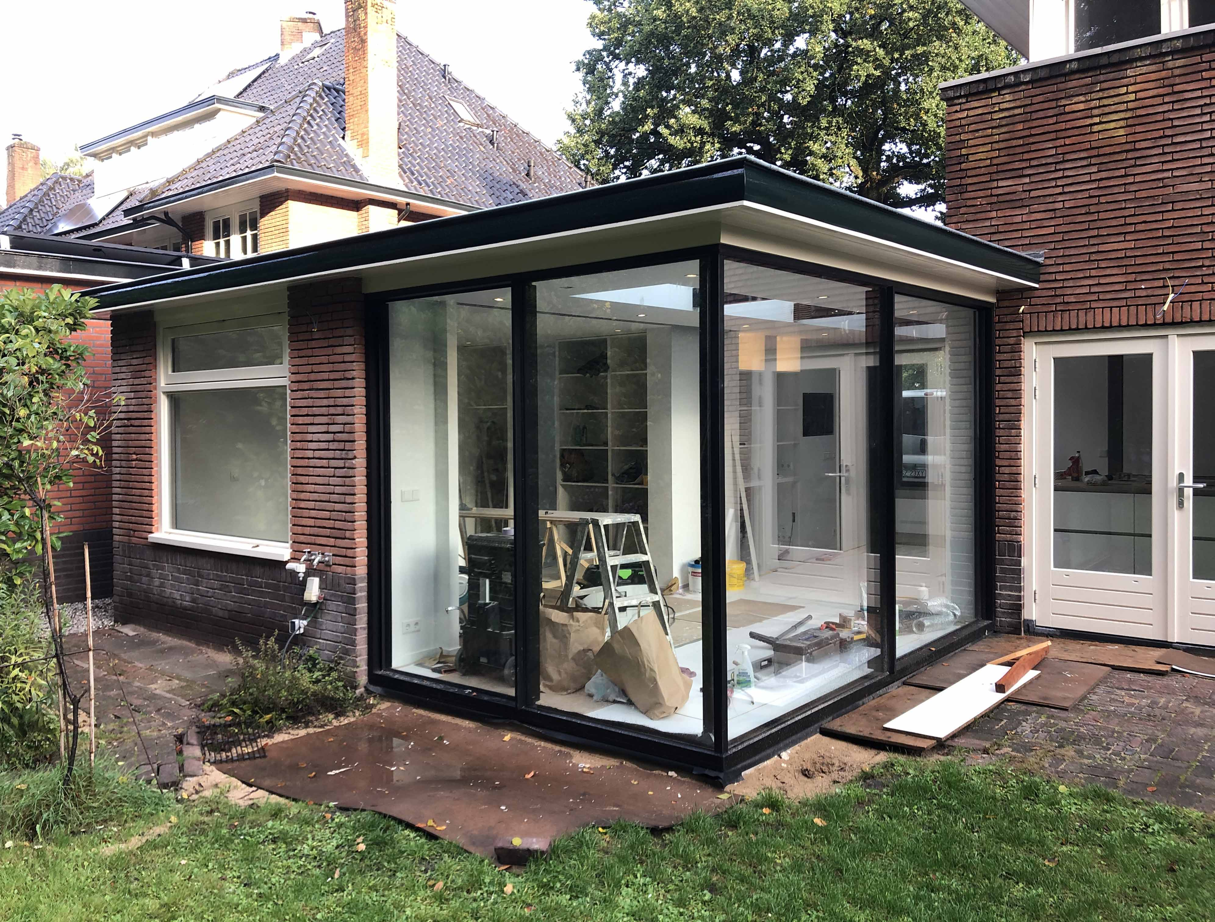 04/11/2019 Vooroplevering woning wijk Boomberg Hilversum