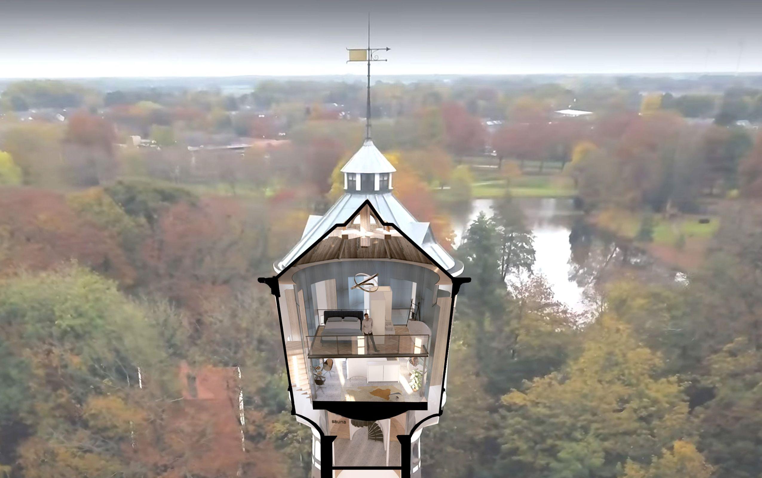 05/05/2021 Winnend ontwerp selectie watertoren Coevorden!