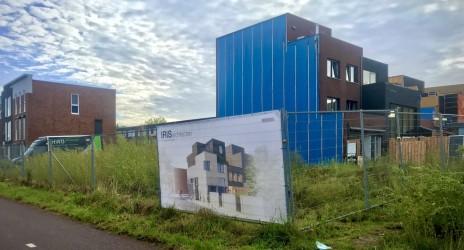 09/09/2020 Start bouw van twee woningen in Veenendaal