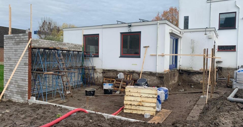 05/11/2020 Start bouw Villa Johanna