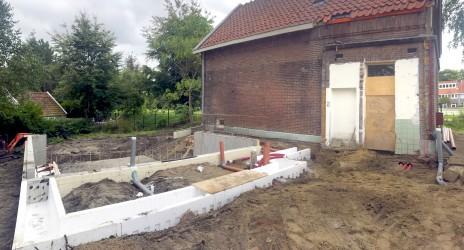 18/09/2019 Start bouw Spoorwachterswoning